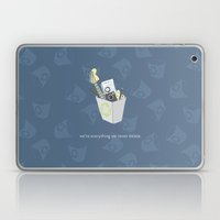 Never Delete Laptop & iPad Skin