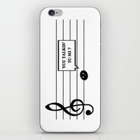 Don't Mess With Mi iPhone & iPod Skin