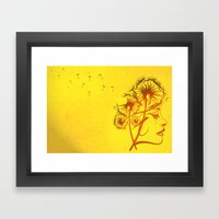 Fleeting Thoughts Framed Art Print
