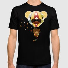 Chestnut Girl Balloon!!! SMALL Mens Fitted Tee Black