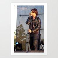 Julian - The Strokes Art Print