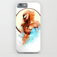 iPhone Cases featuring Spider-Man by Rene Alberto