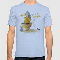 traveller Mens Fitted Tee Athletic Blue SMALL