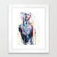 Nothing Is Enough Framed Art Print