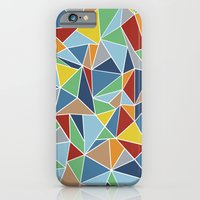 Abstraction Outline iPhone 6 Slim Case