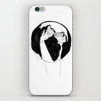 moonlight hands iPhone & iPod Skin