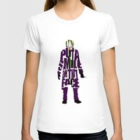 joker T-shirts featuring Joker by Ayse Deniz