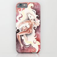 iPhone & iPod Case featuring Masters of Disguises (Io and Zeus) by Emily Swedberg (Ito Inez)