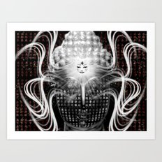 Buddha Psych Art Print