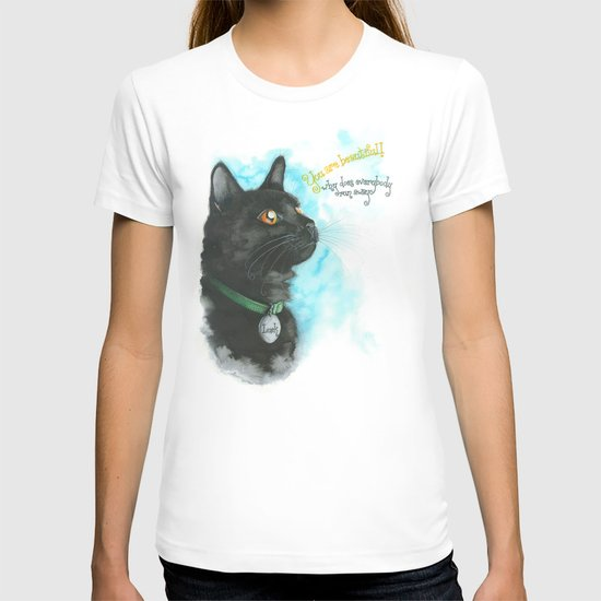 Black Cat-2 T-shirt