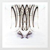 Lights Mirror Image IV Art Print
