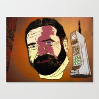 Billy Mays Here Calling … Canvas Print