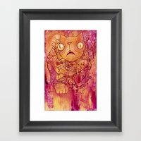 Deep Mania Framed Art Print