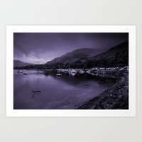 Loch Lomond Blues  Art Print