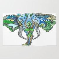 Tatoo Elephant Rug