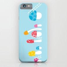 Mushroom Maintenance Blue Slim Case iPhone 6s