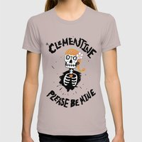 Oh, Clementine please be mine... Womens Fitted Tee Cinder SMALL