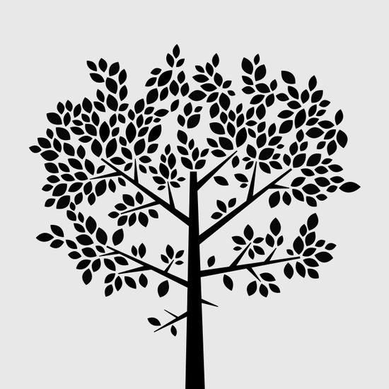 Tree Graphic 2 Art Print