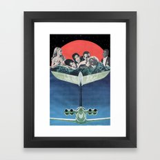 Mile High Club Framed Art Print