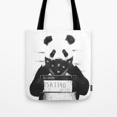 Bad panda Tote Bag