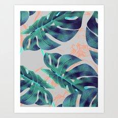 Be Tropical #society6 #decor #buyart Art Print