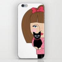 Mss Cat iPhone & iPod Skin