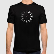 stop SMALL Mens Fitted Tee Black