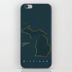 MDOT - Michigan Land & Maritime Borders iPhone & iPod Skin