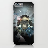 Pyramid skulls iPhone 6 Slim Case