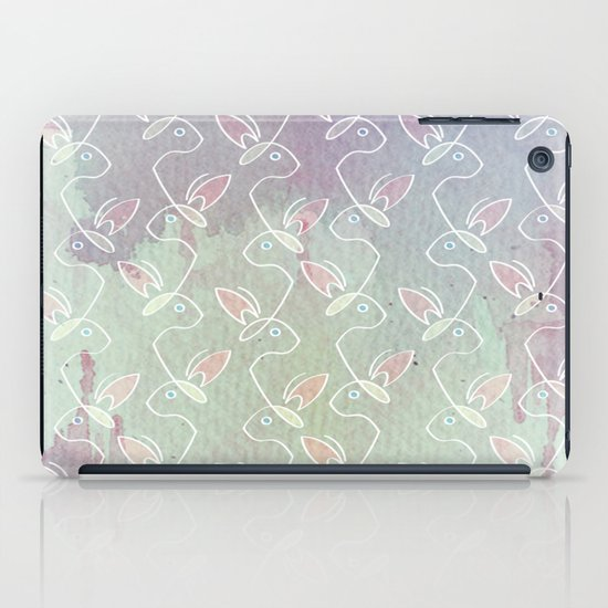 Running Bunnies iPad Case