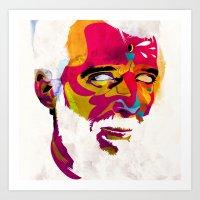 Mr.K Art Print