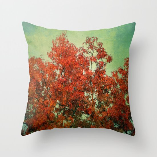 October Finale Throw Pillow