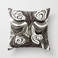 Peace Within The Battle Throw Pillow