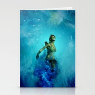 Fighter In The Universe Stationery Cards