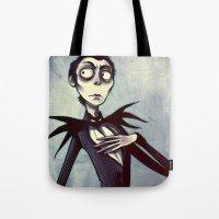 Jackskellingtonpumpkinki… Tote Bag