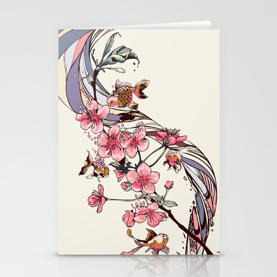 Blossom Stationery Card