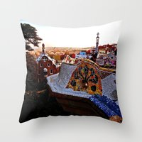 Barca Throw Pillow