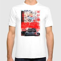 LUDWIG'S LAW Mens Fitted Tee White SMALL