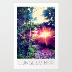 Junglism 4 Art Print