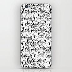 Oh Pugs iPhone & iPod Skin