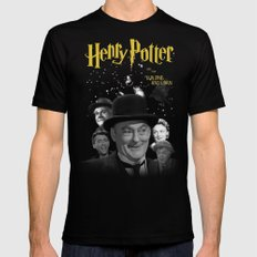 Henry Potter & The Building & Loan Mens Fitted Tee Black SMALL