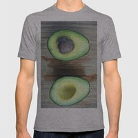 Make Me Some Guac Mens Fitted Tee Athletic Grey SMALL
