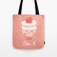 Sweet Cherry Cake Tote Bag