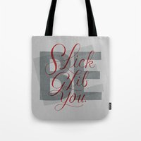 Slick, Glib, You Tote Bag