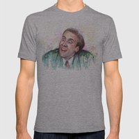 Nicolas Cage You Don't S… Mens Fitted Tee Athletic Grey SMALL