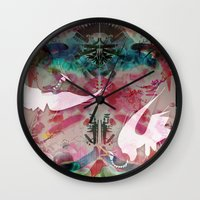 Dirty Paws Wall Clock
