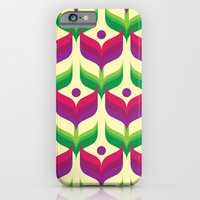 iPhone & iPod Case featuring Tulip Garden by rollerpimp