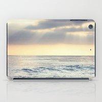 California Sunset over the Pacific Ocean iPad Case