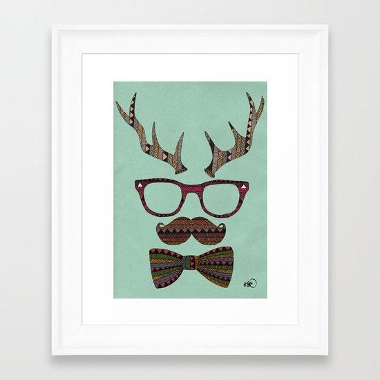 Björni Framed Art Print