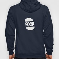 FOOD logo fun generic food logo Hoody